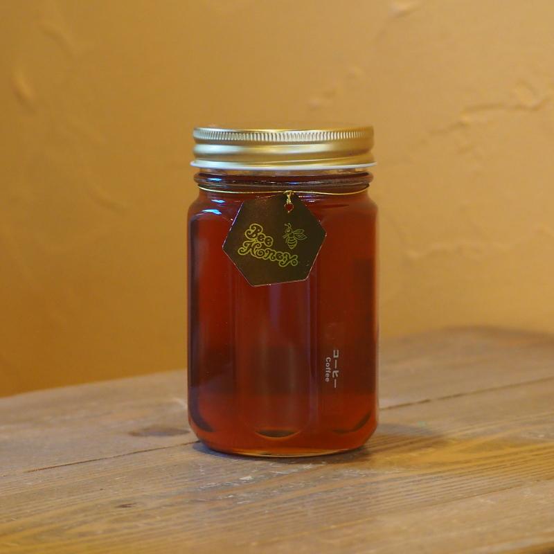 コーヒーとの相性抜群の奥深い味わいの蜂蜜,ブラジル産純粋蜂蜜,コーヒーはちみつ500g,Bee Honey,はちみつオンライン通販ビーハニー