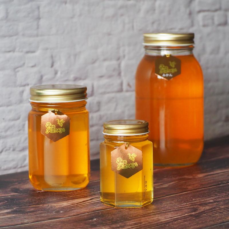 フルーティな甘酸っぱさが爽やかな蜂蜜,国産純粋蜂蜜,みかんはちみつ1.2kg,Bee Honey,はちみつオンライン通販ビーハニー