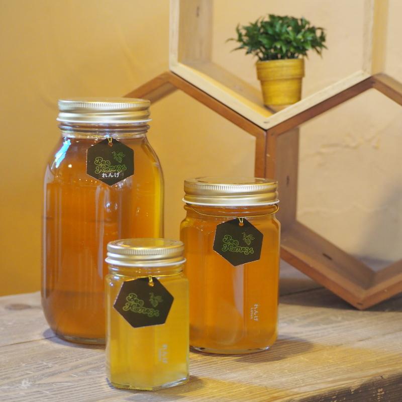 【国産純粋蜂蜜】れんげはちみつ,Bee Honey ビーハニー