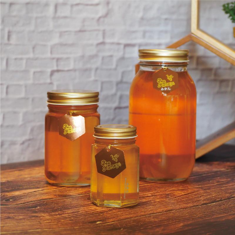 【国産純粋蜂蜜】みかんはちみつ,Bee Honey ビーハニー