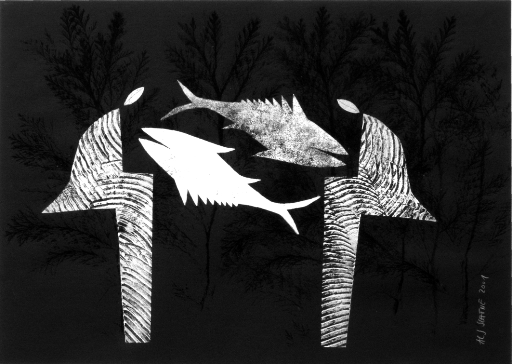 Aus der Serie Il Cibo. Zuneigung 2001 70 x 50 cm Mischdrucktechnik