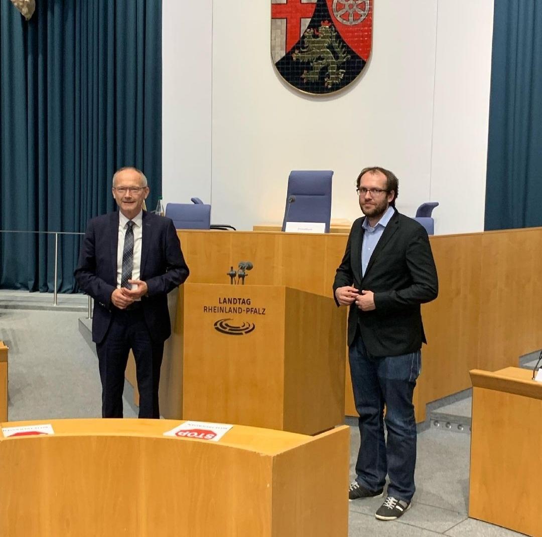 Dr. Helmut Martin einstimmig zum Vorsitzenden des Rechtsausschusses des rheinland-pfälzischen Landtags gewählt