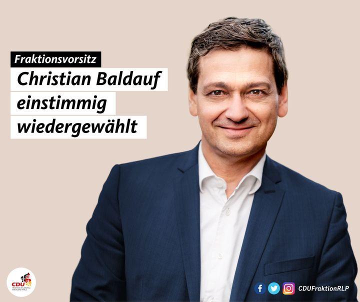 Aus der CDU-Landtagsfraktion: CDU-Landtagsfraktion beauftragt Christian Baldauf mit Reformagenda