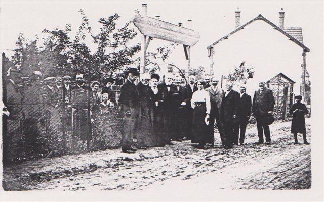 Visite du Dr Millard aux Jardins ouvriers