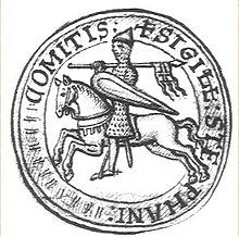Sceau du comte Etienne-Henri