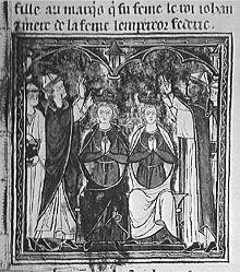 Couronnement de Jean de Brienne
