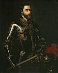 Portrait de Charles le Quint par Titien