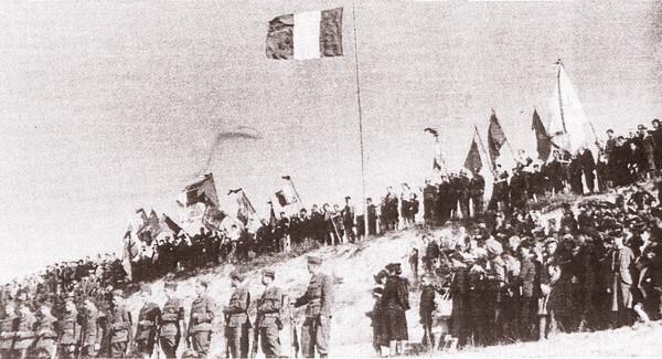 Cérémonie funèbre pour les martyrs de Creney (9 septembre 1944)