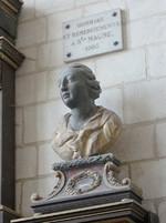 Buste de sainte Maure