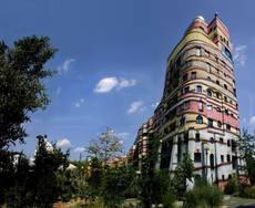 """Waldspirale"""" Hundertwasser Haus"""