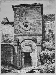 Porte du palais des Comtes de Champagne