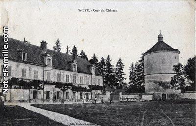 Château des évêques de Troyes à ST LYE