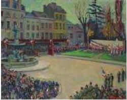 Commémoration Jean Moulin 1955