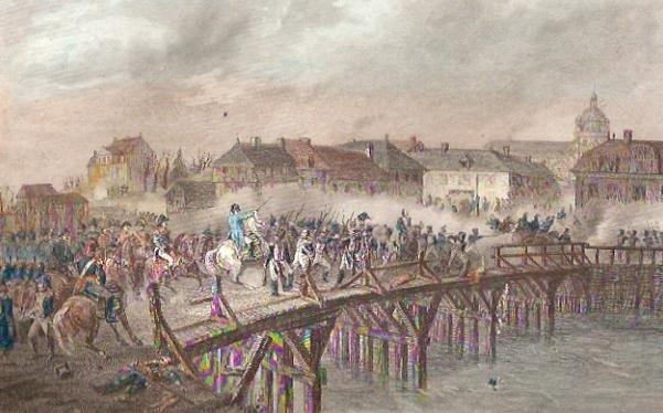 Napoléon au pont d'Arcis