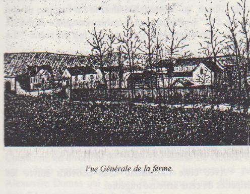 Vue générale de la ferme