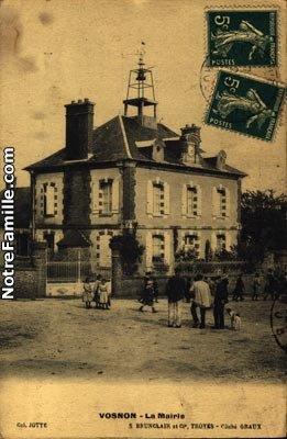 Mairie école de Vosnon