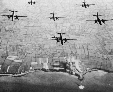Bombardement allié