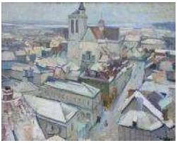 Saint Nizier sous la neige