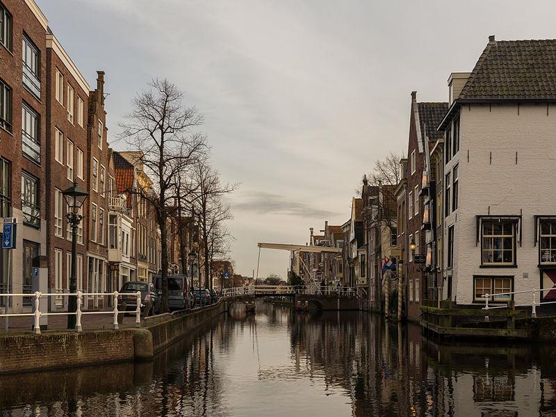 View to a street: de Zijdam
