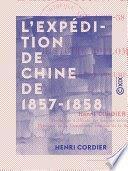 EXPEDITION DE CHINE