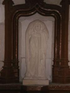 Chapelle où Ste Tanche déposa sa tête coupée