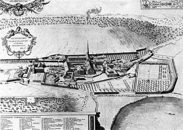 Reconstruction de l'abbaye de Clairvaux