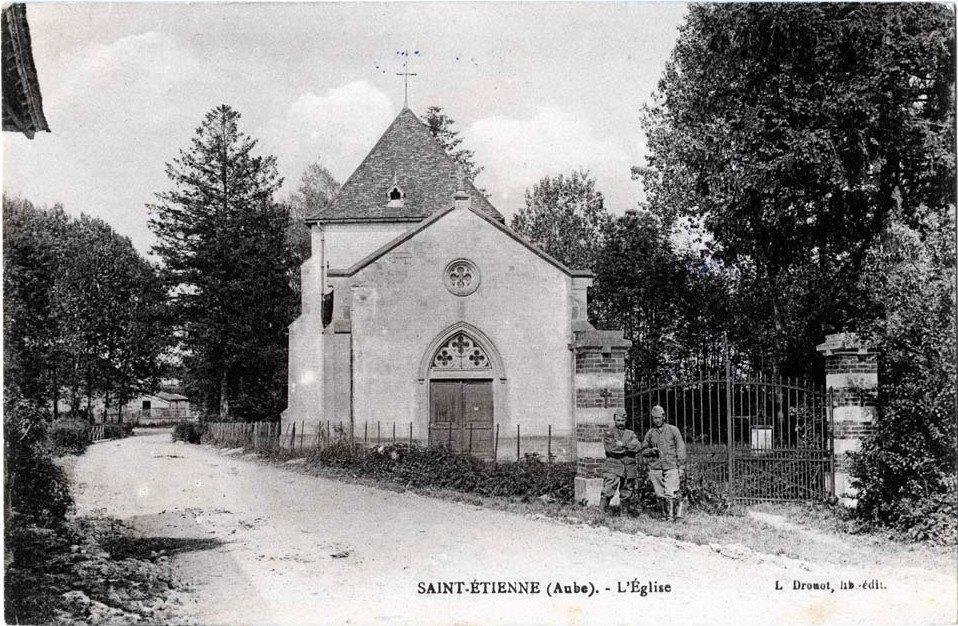 Saint Etienne sous Barbuise