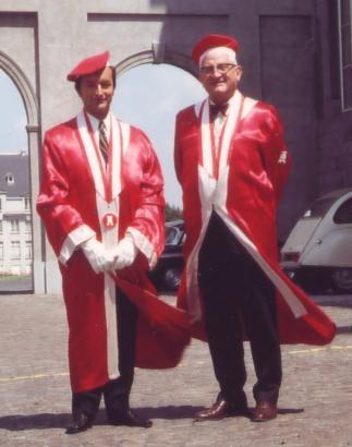 Dr Sonrier et Jacques Schweitzer