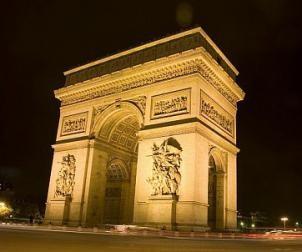 Le nom du Général Gautherin est gravé sur l'Arc de triomphe