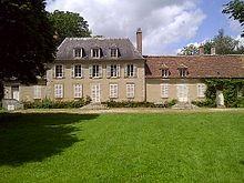 Le château du Pin, résidence secondaire de Valée acquise en 1821