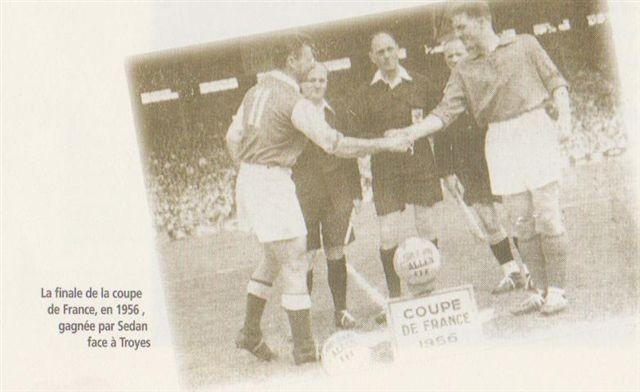 Finale coupe de France 1956