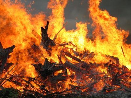 Incendie de la ferme