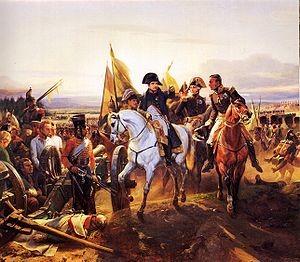 Napoléon à la bataille de Friedland