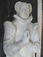 gisant restauré de Louise de Coligny