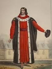 Maire en costume de magistrat