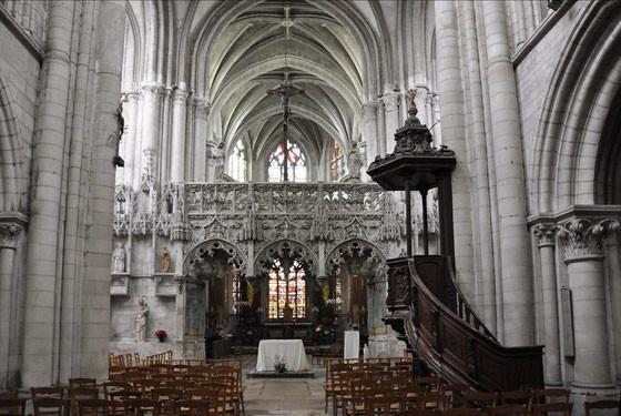Eglise sainte Madeleine (jubé)