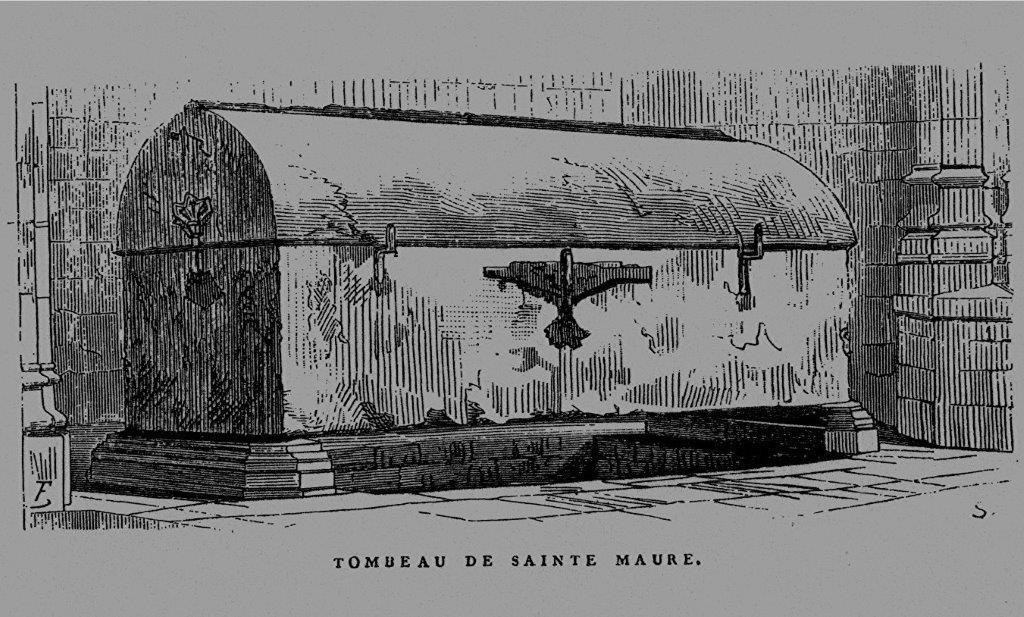 Tombeau de Ste Maure