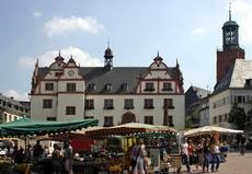 Old Town Hall and market place