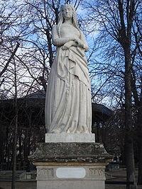 Ste Genevièvre (Jardin du Luxembourg)