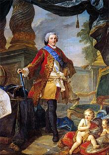 Louis de France à 18 ans