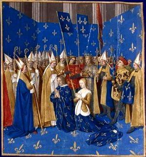 Sacre de Charles VII