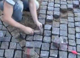 pierre à paver les rues
