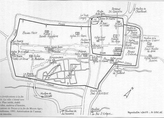 Carte des Moulins