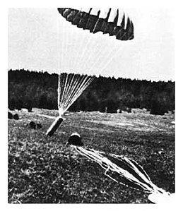 Parachutage Géraudot