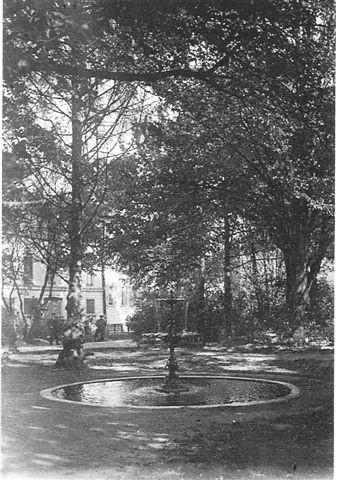 Fontaine existant en 1846