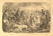 Saint Loup arrête Attila devant Troyes