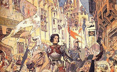 Jeanne d'Arc dans Troyes