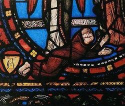 Abbé Suger (Verrière basilique St Denis)