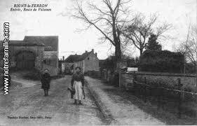 Rigny le Ferron