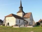 Eglise St Fiacre à Isle Aubigny